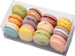Passions fruktmacarons