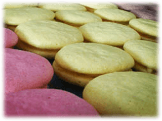 Macarons hos Lilla Bageriet i Lycksele